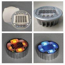 내장형 10톤 등급의 Solar LED Spike Light Cat Eyes Reflective Road 스터드