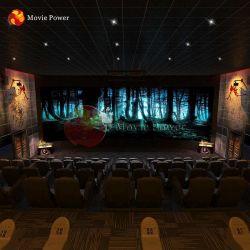 Immersive 공포 집 무서운 4D 5D 동적인 움직임 영화관 의자 극장 시스템