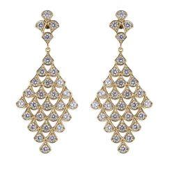 Роскошный оптовые украшения Earring Fan-Shaped свадьбы