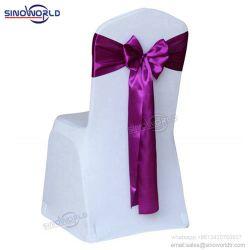 يوفر غطاء كرسي من القماش لزينة حفلات الزفاف ذات الجودة العالية