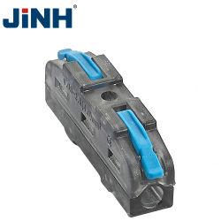 Fornecido de Fábrica a alavanca azul Fio Rápida do bloco de terminais