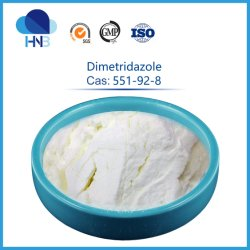 551-92-8 Stock Veterinary Antibakterielle Medizin Raw Powder 99% Dmz Dimetridazol