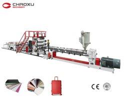 Горячие продажи автоматическая пластиковые экструдер машины производственной линии для багажа