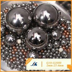 2.0mm - 25.4mm G10 - G2000 크롬 강철/AISI52100/Gcr15/100cr6 베어링용 볼