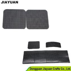 Adesivo Retângulo personalizado Velcro Preto e quadrado Branco adesivo de dupla face Fivela