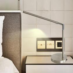 閲覧室の現代装飾的なカスタマイズされた管の卓上スタンドLEDの照明の側の標準的な北欧のホテルの机