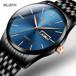 월스 브랜드 패션 럭셔리 클래식 쿼츠 남성용′ S 손목 시계 남성용 디자이너 패션