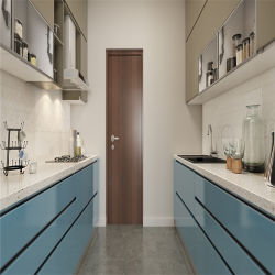 Foshan moderna fábrica de armários de cozinha projeta
