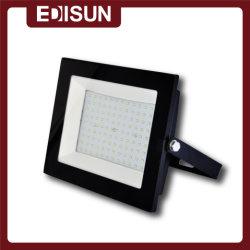 SMD ad alta potenza 20 W 30 W 50 W 70 W 100 W CE RoHS Proiettore LED per esterni LVD con alloggiamento nero