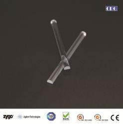 Настраиваемые Super польский оптический конический Сапфир/стекла/кремния/Crystal световод направляющей штока Homogenizing для светодиодного/медицинские приборы освещения/медицинских устройств обработки изображений