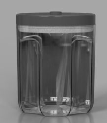 Contenitore sottovuoto a tenuta stagna per alimenti in plastica per PC per la conservazione di alimenti Contenitore