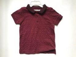 Été, les enfants à manches courtes Tee-shirts polo Jacquard Coton T Shirt Baby Boys Tee Tops Enfants Vêtements