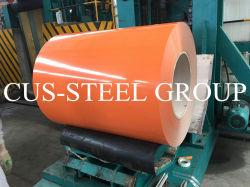 0,40 mm PPGI Prepainted Gi bobinas de acero / PPGI / PPGL DX51d Z275 Prepainted Zinc-Aluminum galvanizado de acero recubierto de