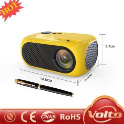 1500 лм ЖК-Мини-Portable 480p поддерживает разрешение 1080p видео проектор светодиодный проектор для домашнего кинотеатра