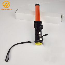 Feu de circulation du trafic le maréchal Wand Baton de signalisation à LED magnétique Policía Baton Stick
