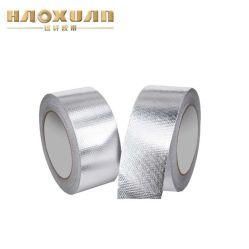 80 microns étanche noir en aluminium brossé de ruban adhésif
