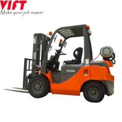 Vift Brand 3 ton 3.5 ton benzine en LP gas Propaanvermogen van de vorkheftruck met triplex container-mastvork-positioner