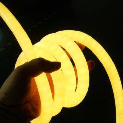 IP68 exterior LED flexíveis rodada 360 graus Neon Luz Flexi Natal Decoração Pátio do prédio