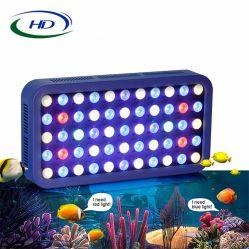 Het nieuwste 165W LEIDENE van Dimmable van de Controle van WiFi Licht van het Aquarium voor het Zoet water van de Tank van de Vissen van de Ertsader 280L/150lcoral/Zeewater