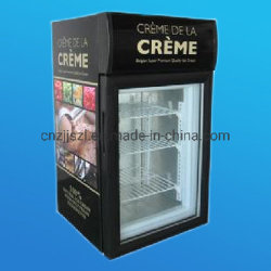 Alta calidad china Mini Display vertical helado del congelador escaparate proveedor SD-50L