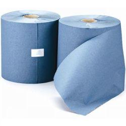 Tovagliolo di lusso di vendita caldo Eccellente-Absorent amichevole impresso blu del rullo della pelle