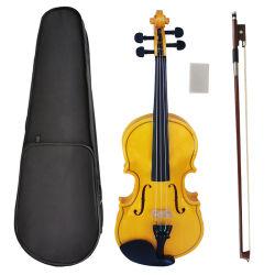 Instrumenten van het Koord van de Viool van het Triplex van de Kleur van Aiersi de Gele Onderwijs voor Beginner en Student