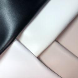 Овцы зерна синтетических PU кожа для обуви внутренней панели боковины