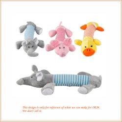 Funny Novo cão de estimação de brinquedo Chew Squeaker estridente Animal de pelúcia