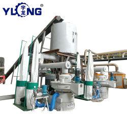 La máxima calidad 5-7 T/H de la corona de la línea de maquinaria de pellets de madera Die