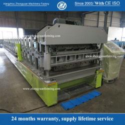 Ханчжоу строительного материала механизма принятия решений на заводе новой технологии Double Layer металлической стенки кровельные формирования рулона для продажи