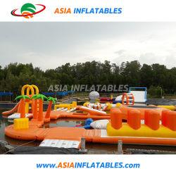 ألعاب عائمة للأطفال في ملعب للأطفال القابل للنفخ Jumping Blob Water Park