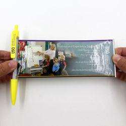 Folleto de Publicidad Banner precioso Logotipo Pen Bolígrafo