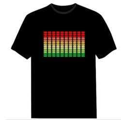 Clignoter EL Shirt/T Shirt el panneau pour Noël/Lampe à LED T Shirt