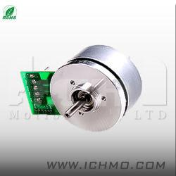 Motore senza spazzola rotondo di CC di Pmsm BLDC del piccolo di 42mm rotore esterno esterno del rotore 24V con il codificatore