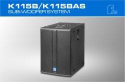 Solo 15pulgadas Self-Powered profesional dentro de altavoz bidireccional Módulo Amplificador DSP con