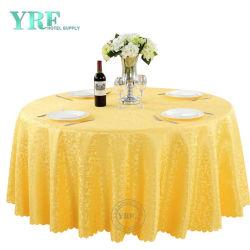 Décoration de mariage Nappe ronde fantaisie broderie Chiffon de table