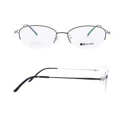 Estrutura da metade de alta qualidade de titânio quadros óptica óculos óculos de óculos