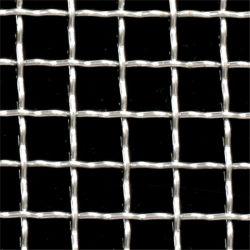 À armure toile en acier inoxydable de l'écran de vibration en métal galvanisé maille serti grille métallique tissée