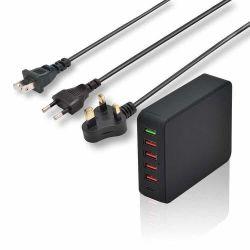 QC3.0 5 Port USB Multi Chargeur USB avec connecteur de type C