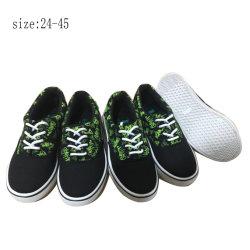 Neueste populäre Mann-Einspritzung-beiläufige Segeltuch-Schuhe (HP1942-27)