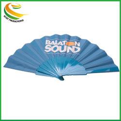 Pli en Nylon Plastique personnalisé de gros ventilateur de la main