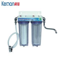 2 этап фильтр для воды с помощью кнопки выпуска воздуха