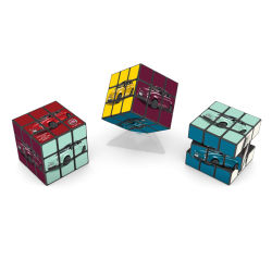 Heißer Verkauf 5,7cm 3 * 3 * 3 Werbung Puzzle Magic Cubes für Rubiks