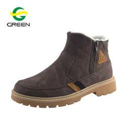 Les femmes de haute qualité Greenshoe Martin Démarrage à chaud, hiver Chaussures pour femmes Bottes plates, cuir Mesdames Bottines Femmes