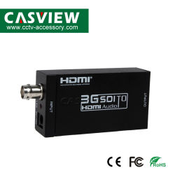 HD-SDI를 지원하는 미니 3G SDI-HDMI 컨버터 SDI 어댑터 / HDMI 720p/1080p를 보여주는 3G-SDI 신호