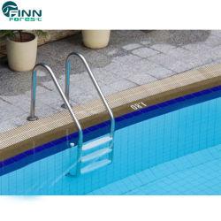 プールのステンレス鋼の反スリップの手すりの梯子