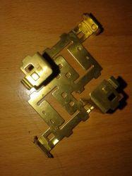 chapa metálica de alta precisão cobre o chip elétrico de Estampagem