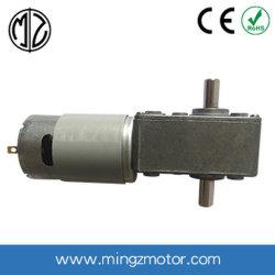 De Elektrische Motor van gelijkstroom en de Versnellingsbak van de Worm met Hoge Torsie Met geringe geluidssterkte