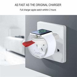 Chargeur sans fil pour Apple je regarder la série 2 3 Regardez la câble de charge chargeur sans fil pour je regarder 1 2 3 4