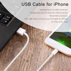 Câble USB prix d'usine 1 mètre de câble câble d'alimentation câble de données de la foudre pour iPhone 11/11PRO/11max/ X/XS/Xr/Xs Max/8/7/6/5s/Se/accessoires pour téléphones mobiles de l'iPad